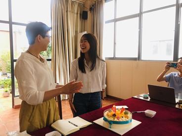 律戈战略合作伙伴——阳湖所举行生日茶话会